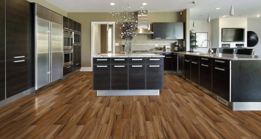 Elegant Modern Kitchen Wood Floors Aprar