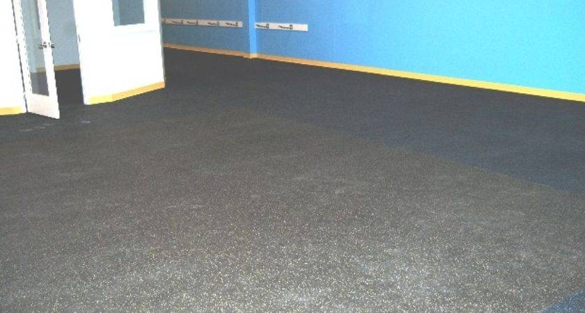 Elegant Rubber Basement Flooring Ideas