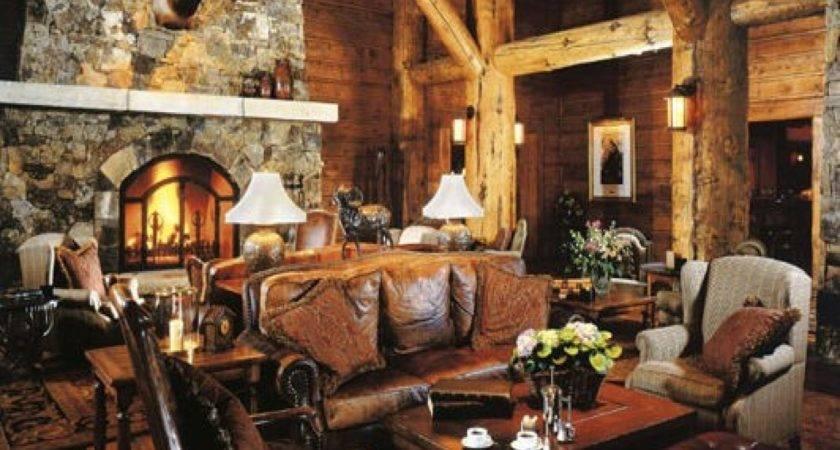 Emejing Rustic Cabin Interior Design Ideas