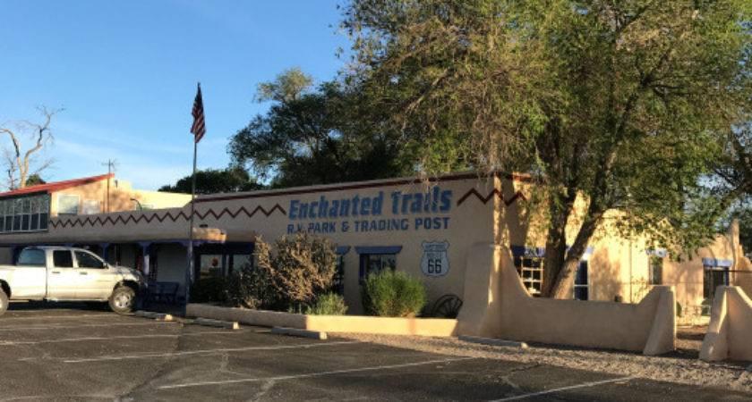 Enchanted Trails Park Trading Post Albuquerque New