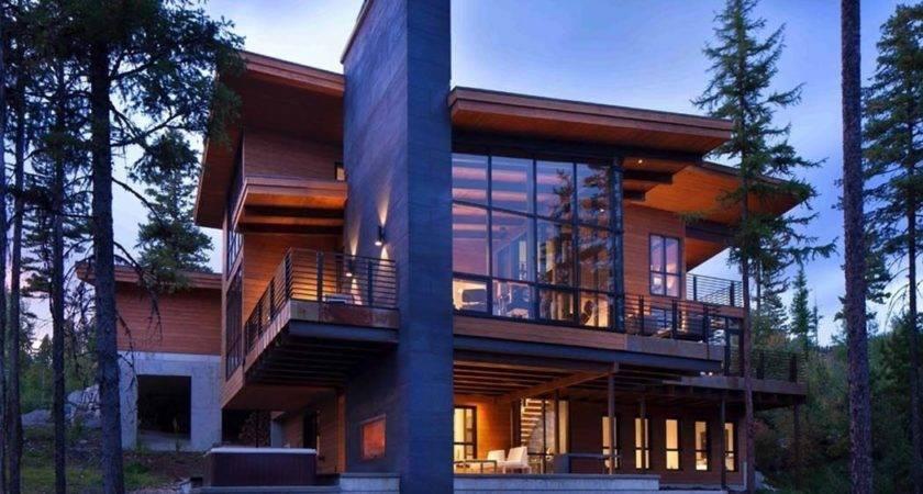 Enchanting Mountain Home Offers Treehouse Feel Montana