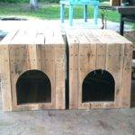 Enchanting Pallet Dog House Plans Photos Exterior Ideas