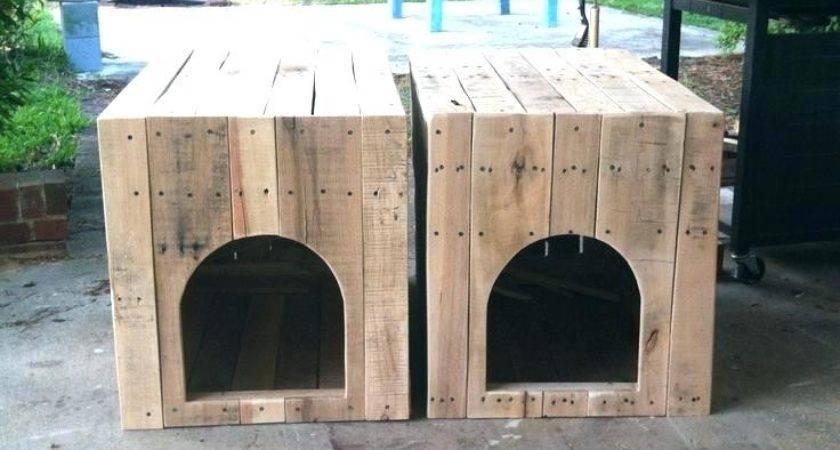 Enchanting Pallet Dog House Plans Photos Exterior Ideas