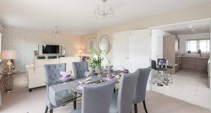 Enchanting Show Home Dining Room Best