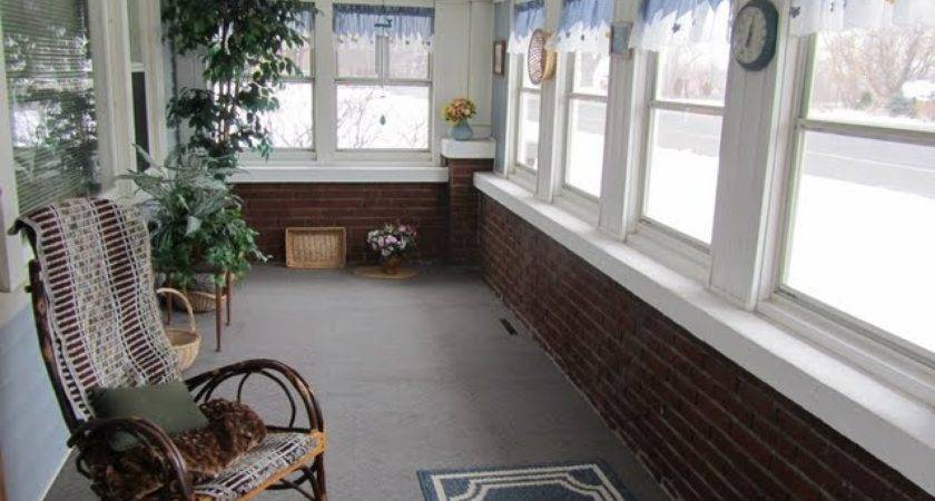 Enclosed Front Porch Decorating
