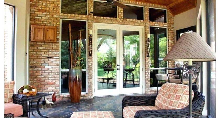 Enclosed Patio Ideas Budget Home Design