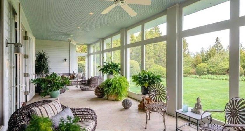 Enclosed Patio Ideas Onewayfarms