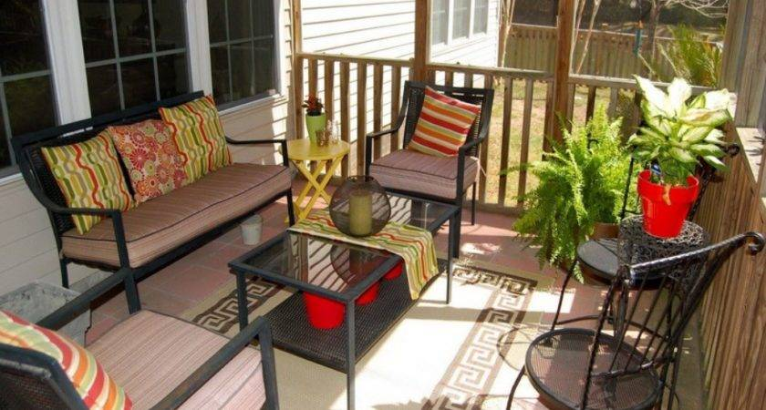 Enclosed Porch Decorating Ideas Charming Patio Budget