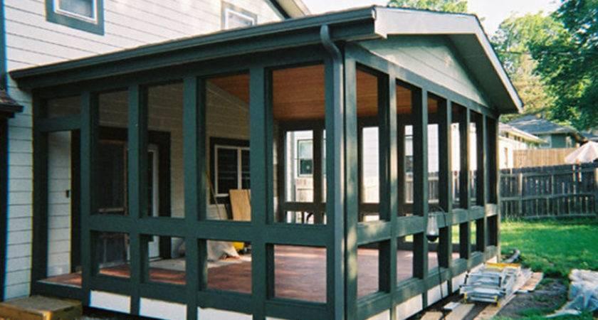 Enclosed Porch Design Bookmark