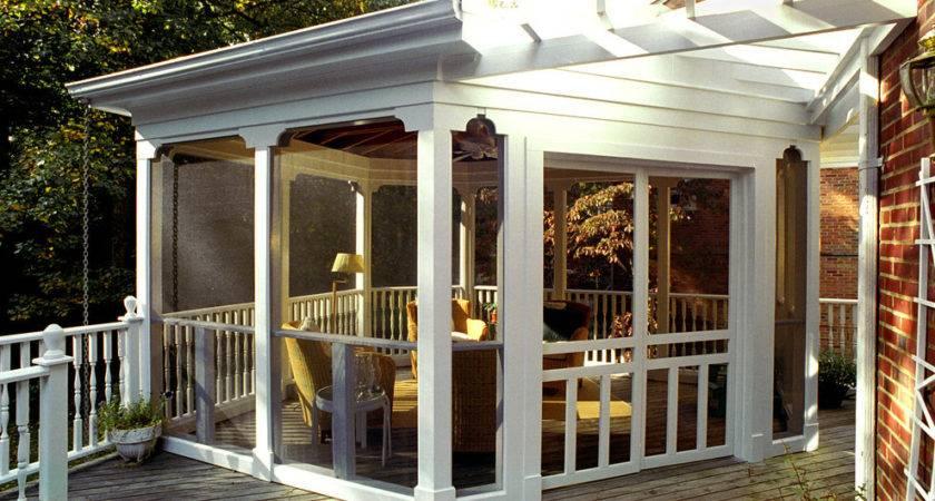 Enclosed Porch Designs Deck Karenefoley