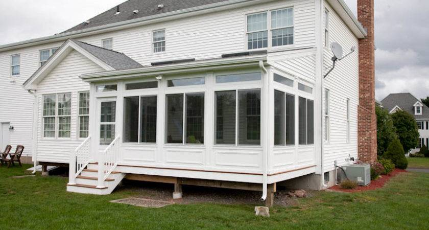 Enclosed Porch Ellington Bailey Carpentry