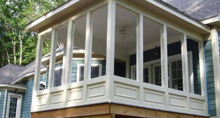 Enclosed Screen Porch