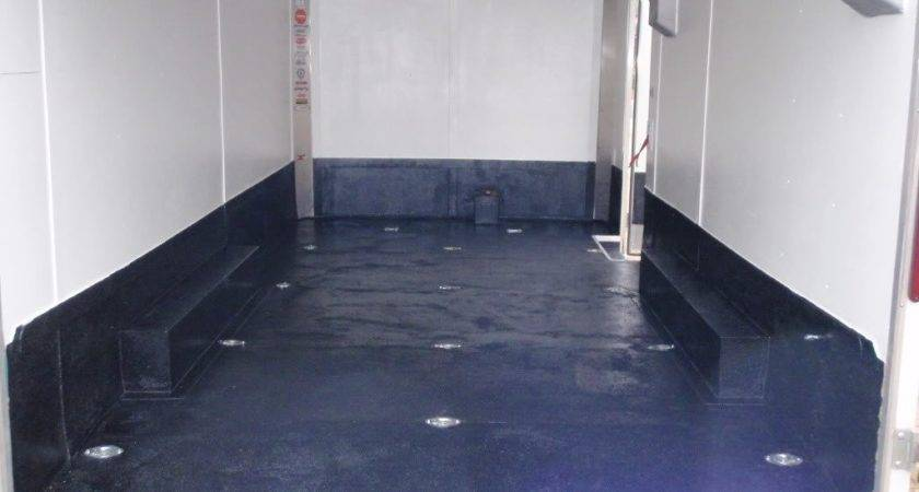Enclosed Trailer Floor Coating Gurus