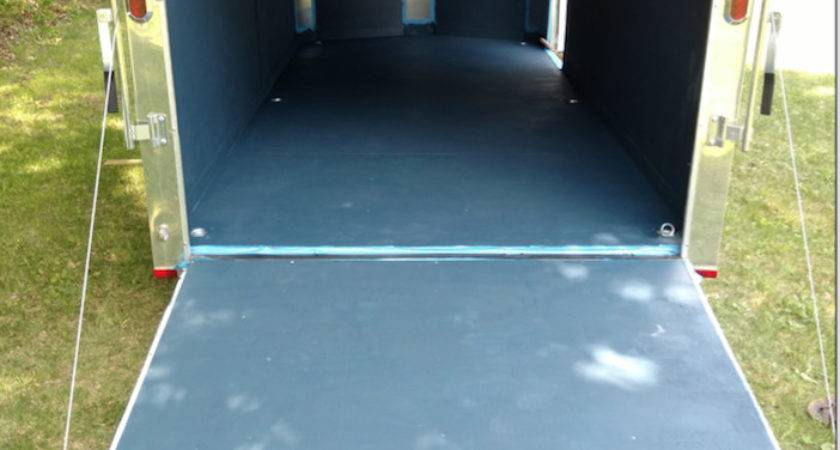 Enclosed Trailer Floor Coating Lawnsite
