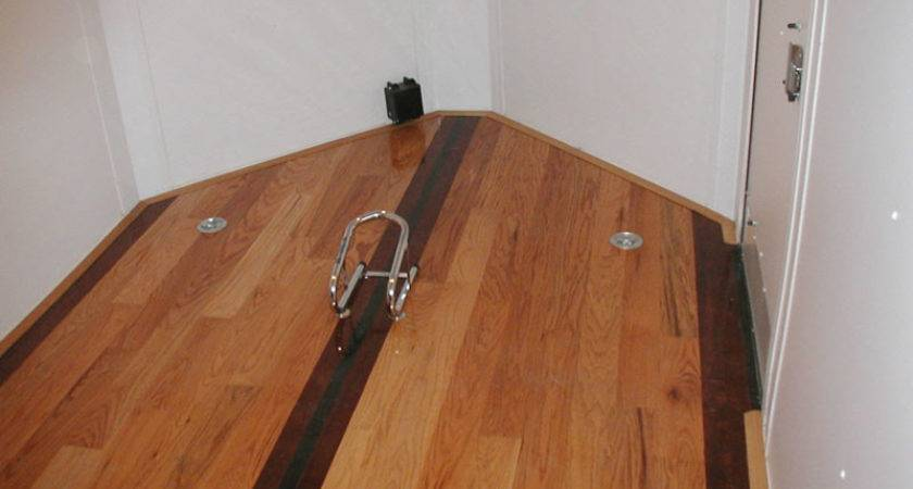 Enclosed Trailer Flooring Houses Ideas