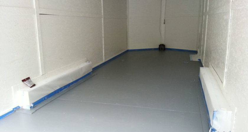 Enclosed Trailer Flooring Houses Ideas
