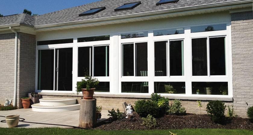 Enclosing Porch Living Space Cheap Open