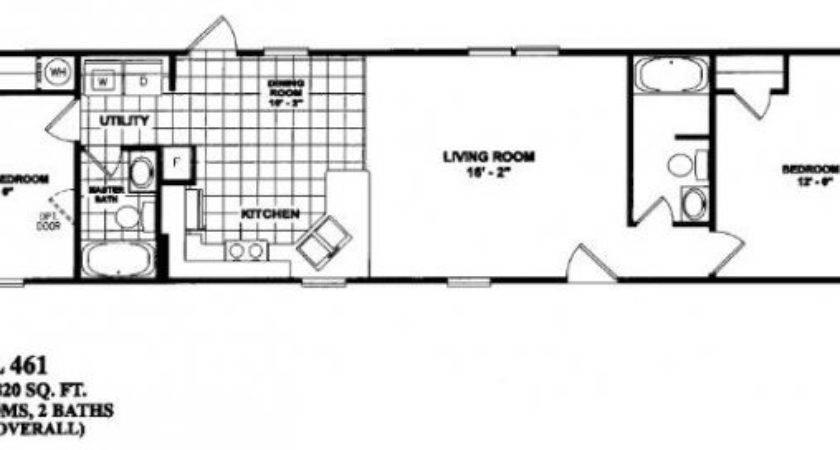 Endearing Bedroom Mobile Home Floor Plans