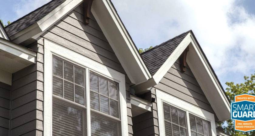 Engineered Wood Siding Durable Trim Smartside