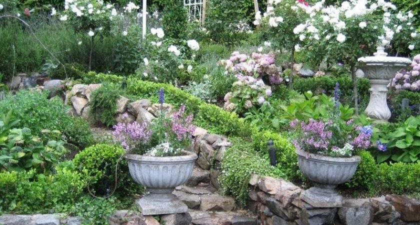 English Cottage Garden Ideas Photograph Laguna Beach