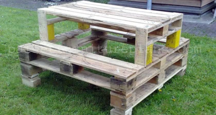 Enjoy Pallet Wood Projects Furniture Plans