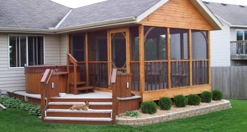 Enjoy Sunroom Front Porch Designs