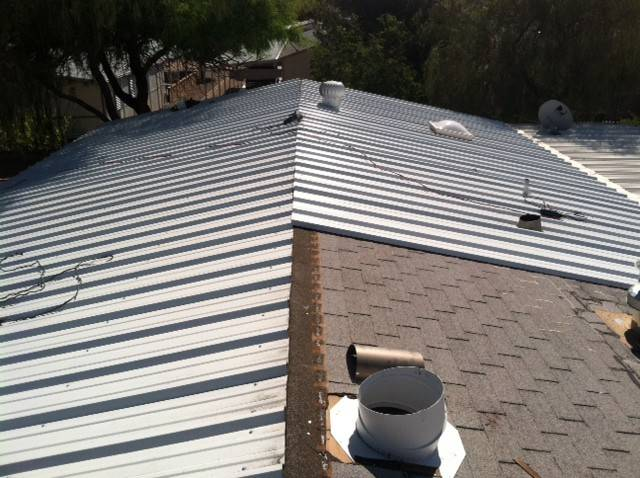 How To Install Metal Roofing Over Shingles Ideas Photo ...