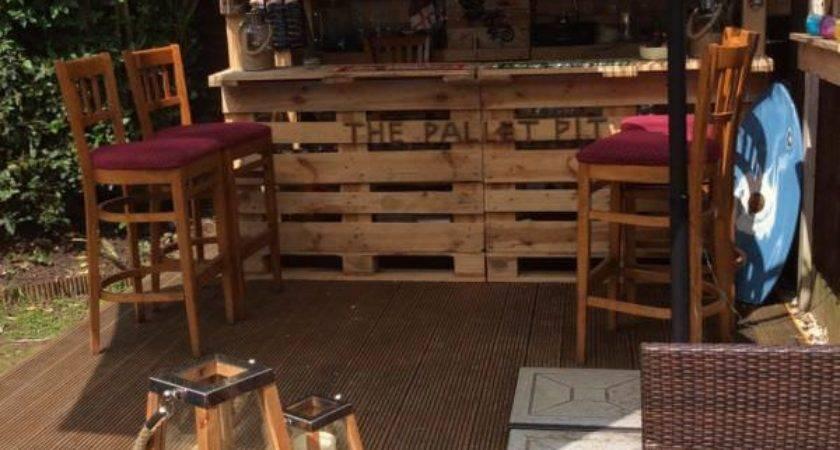 Epic Pallet Bar Ideas Embrace Your Event