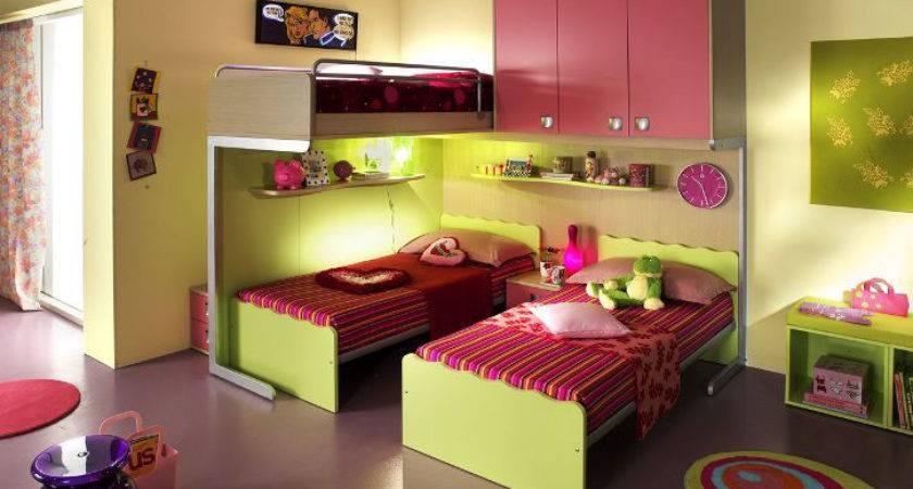 Ergonomic Kids Bedroom Designs Two Children
