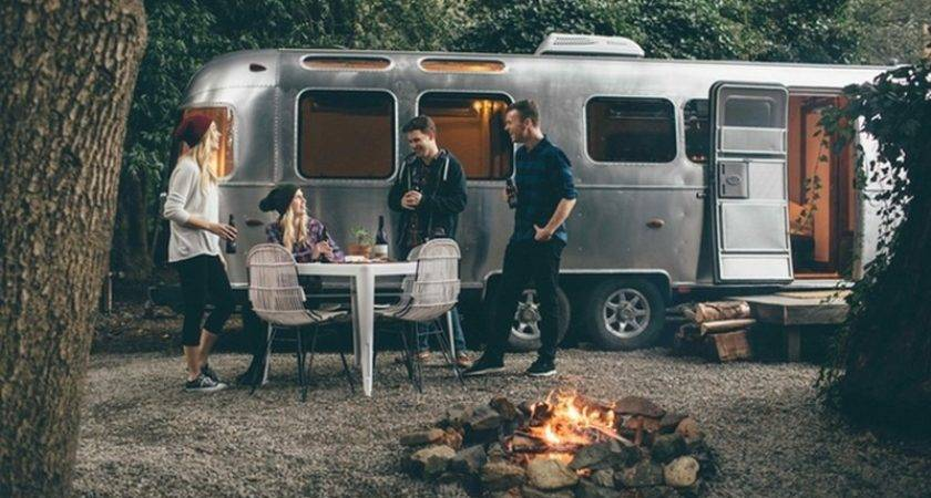 Escape Autocamp Way Airstream Camping Meets