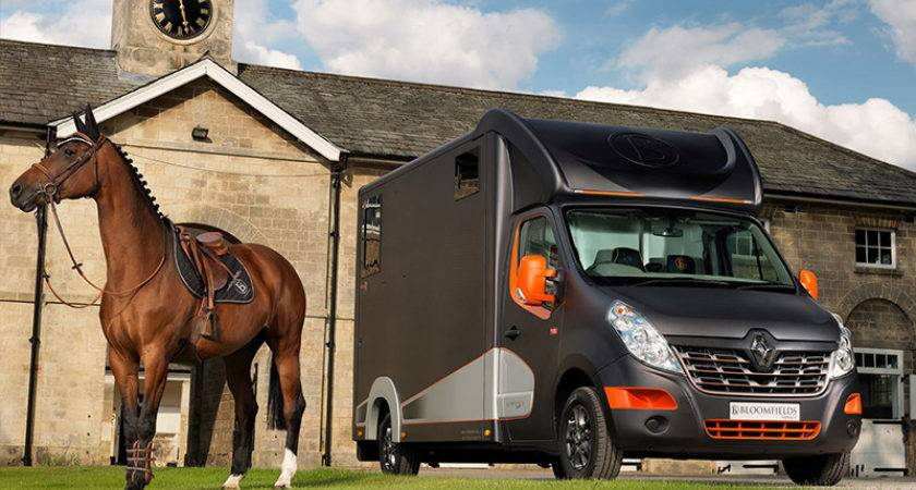 Europe Leading Tonne Horsebox Manufacturer Bloomfields