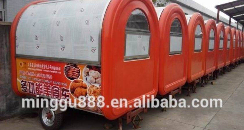 European Standard Approved Food Trailer Manufacturers