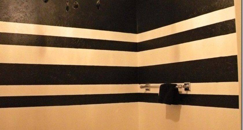 Everything Design Painting Stripes Textured Walls