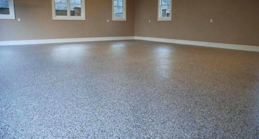 Excellent Ideas Painted Concrete Floor Attractive