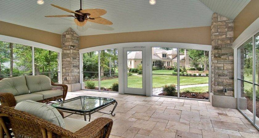 Excellent Small Enclosed Patio Design Ideas