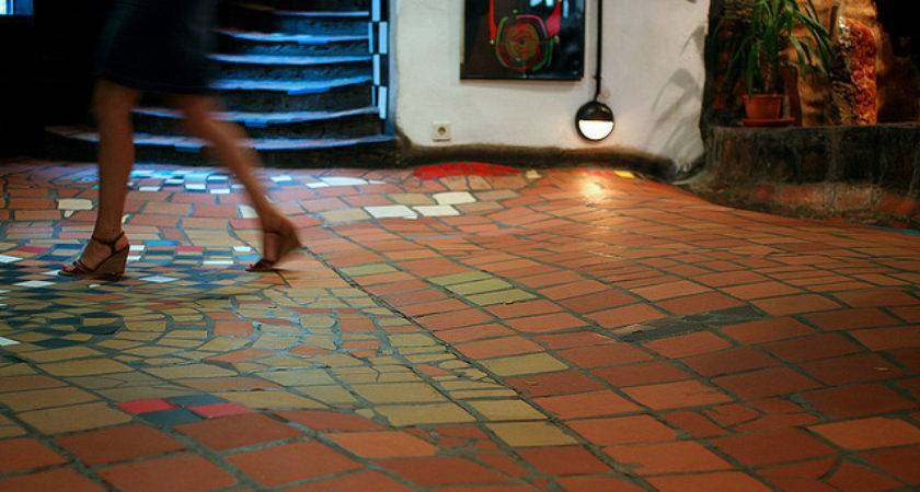 Experimental Art Uneven Floor Hundertwasser