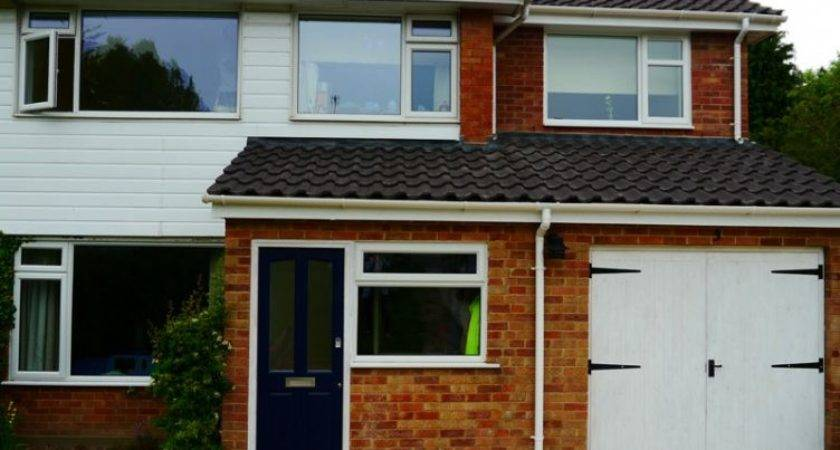 Extension Top Garage Front House Side