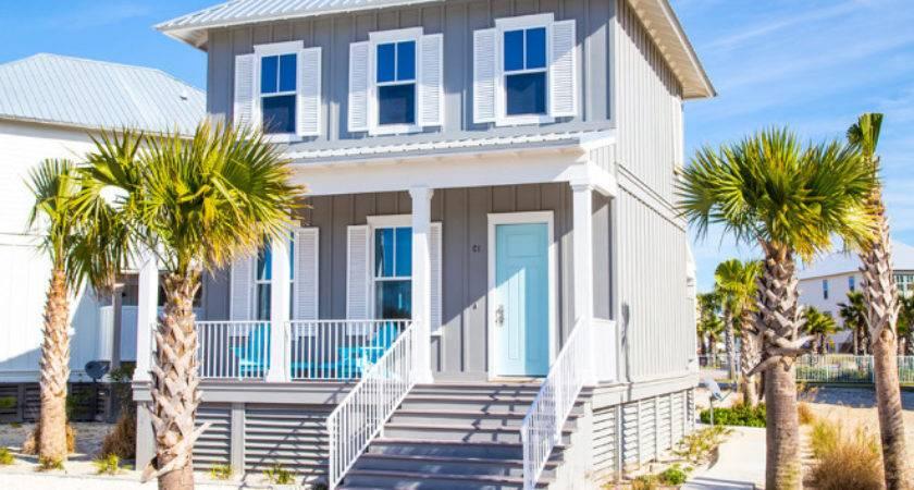 Exterior Beach House Colors Home Design