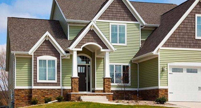 Exterior Brick Siding House Vinyl
