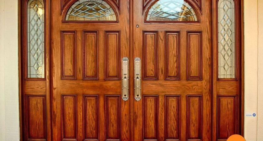 Exterior Double Doors Foot Todays
