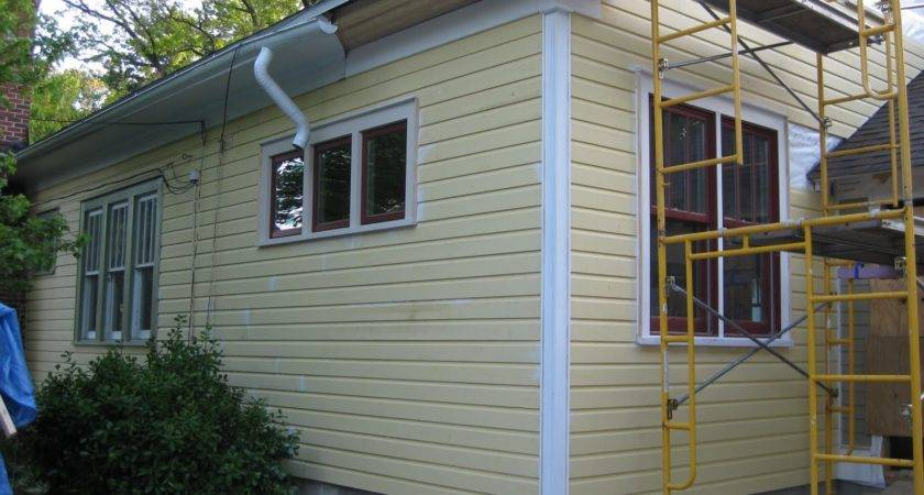 Exterior Exciting Gable Roof White Hardiplank Siding