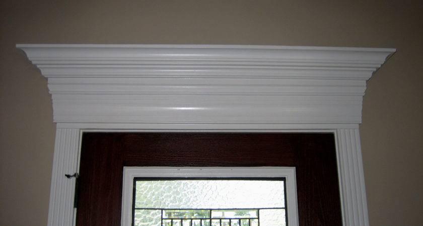 Exterior Front Door Trim Molding Home Design
