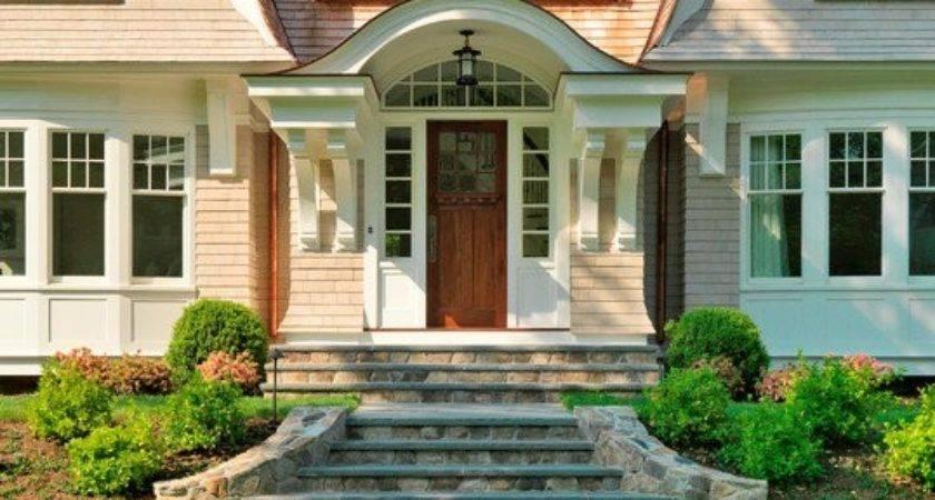 Exterior Front Entrance Stair Ideas Native Home Garden