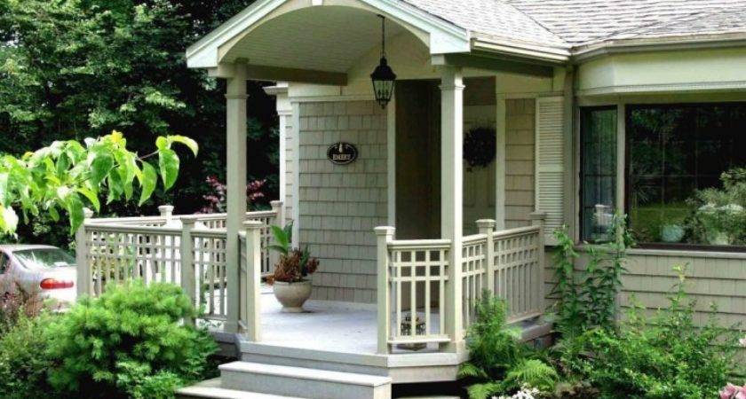 Exterior Front Porch Desk Some Ideas Create Higher