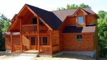 Exterior Log Siding Walls Cabin