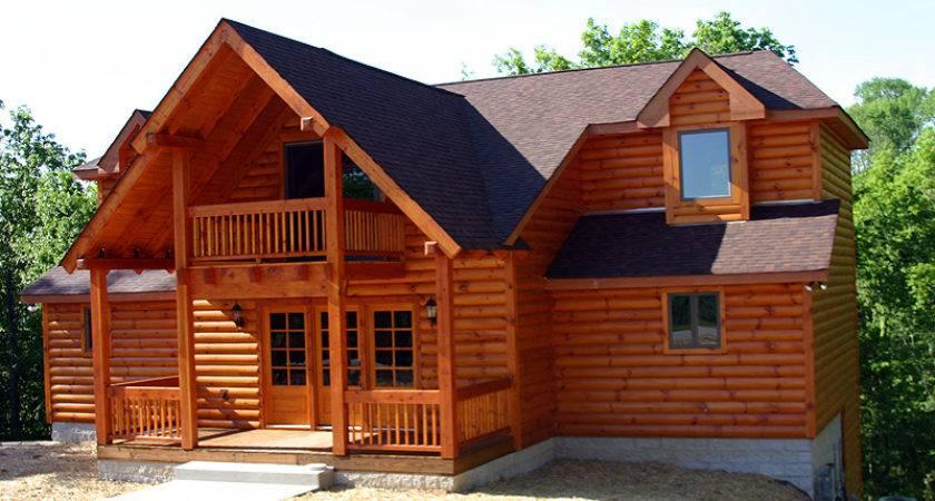 Exterior Log Siding Walls Home Guide