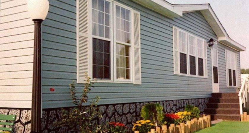 Exterior Paint Color Ideas Mobile Homes