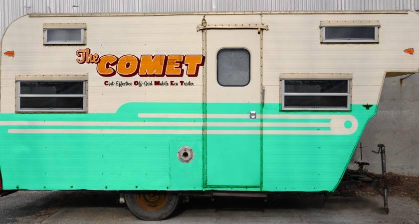 Exterior Paint Design Concept Comet Camper