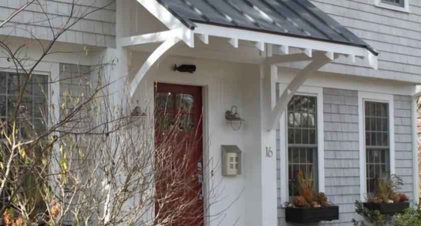 Exterior Planning Front Porch Awnings Door Overhangs