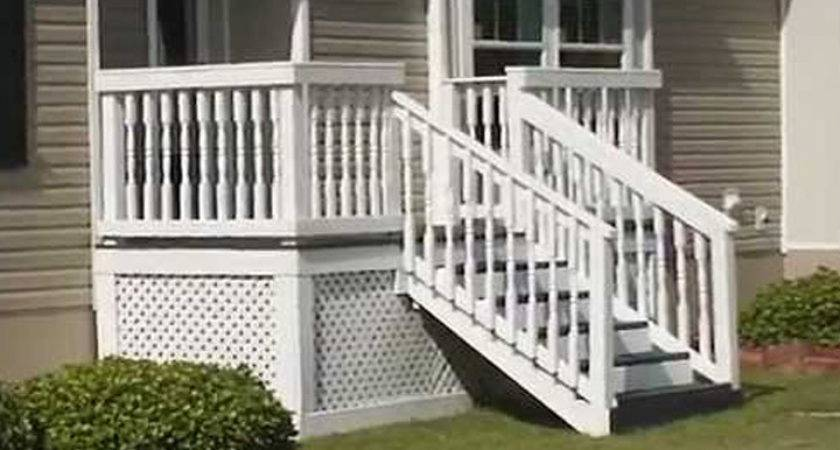 Exterior Stairs Mobile Homes Ideas
